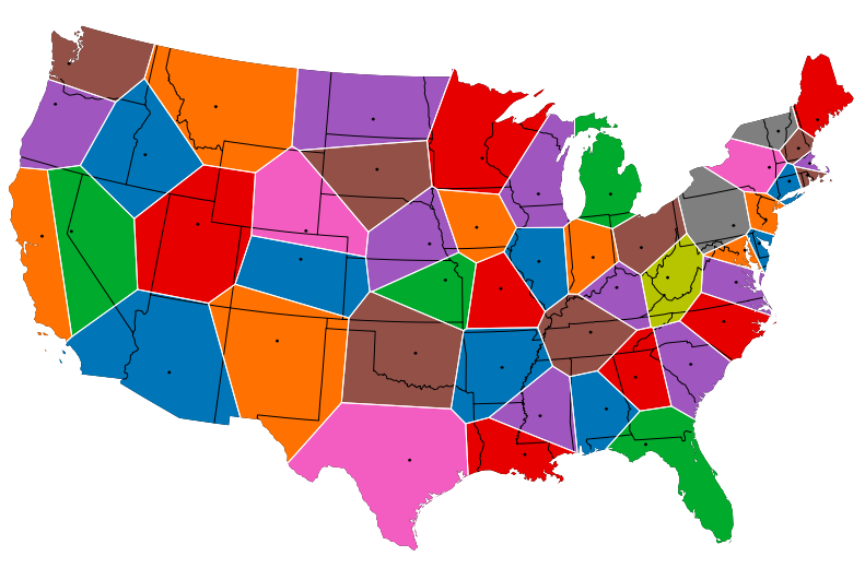 map-of-united-states-split-by-closest-capital